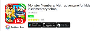 Monster Numbers -the great apps