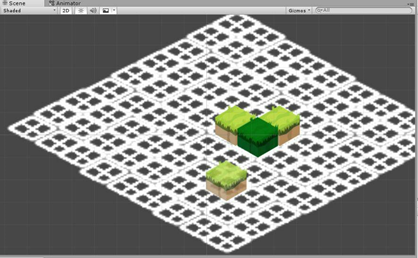Mock up of EducaGames's tile editor tool for Unity